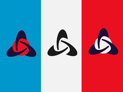Chemistry symbol abstract icon logo atom globe shape symbol chemistry