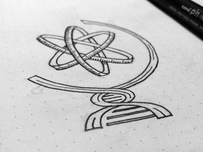 Science Symbol By Stevan Rodic Dribbble