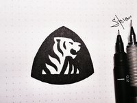 Tiger Sketch triangle