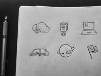 symbol sketch