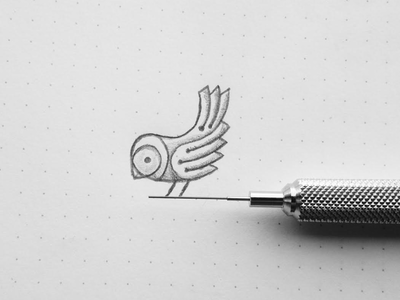Sparrow Sketch nature draw sketch mechanical logo illustration steampunk animal bird sparrow