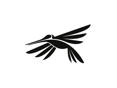 Hummingbird fly animal logo black nature wing bird hummingbird