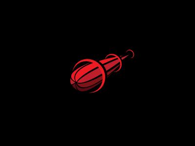 Brand Launcher brand launch launcher comet sky star logo shape red spike light sun asteroid ufo circle s steva inspiration