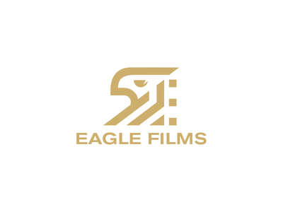 Eagle Films movie animal bird logo film eagle