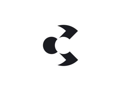 CC c black symbol letter logo monogram cc