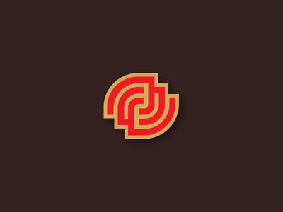 J symbol type logo monogram letter j