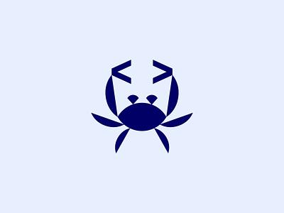 < crab code > symbol icon animal logo gaming game code crab