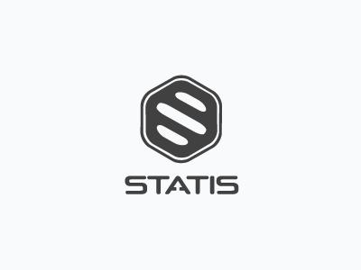 Statis statis s shape logo round hexa hexgram six border line