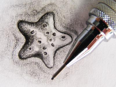 Lil Star star paper draw pencil sketch hand graffiti shape steva