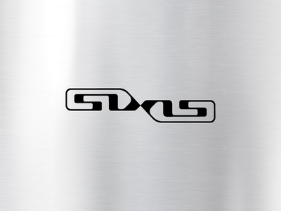 SIXIS ambigram music electro techno custom typeface type brand letter logotype dj logo