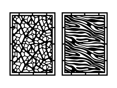 Giraffe &  Zebra repeat shape nature black illustration cnc pattern africa zebra giraffe