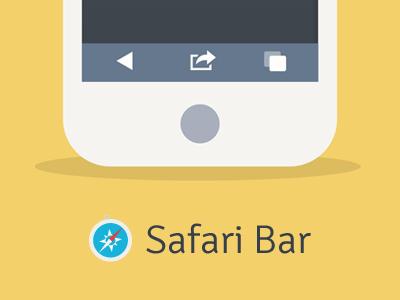 Safari web bar
