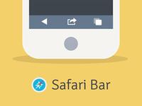 Safari Web Browser Bar