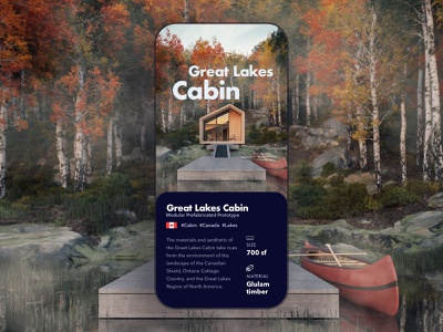 Cabin architecture design cabin iphone