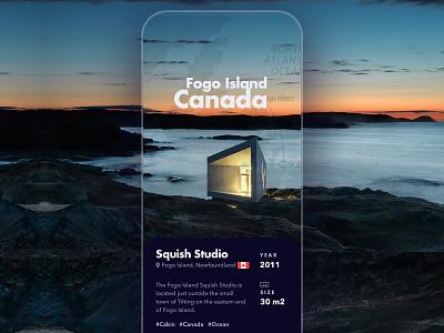 Cabin Fogo Island