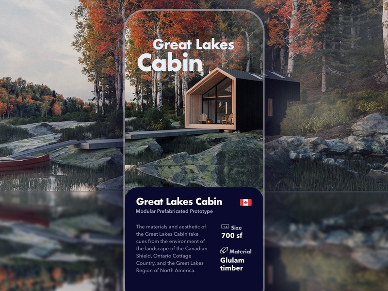 Great lakes Cabin app ios cabin canada