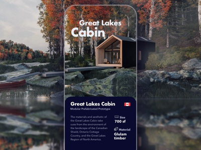 Great lakes Cabin app ios cabin canada