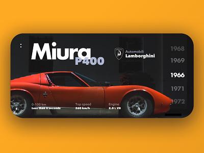 Lamborghini Miura 1966 miura iphone car vintage lamborghini