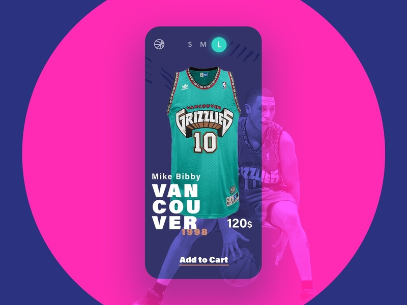 Vancouver Grizzlies - Bibby store iphone jersey nba grizzlies vancouver