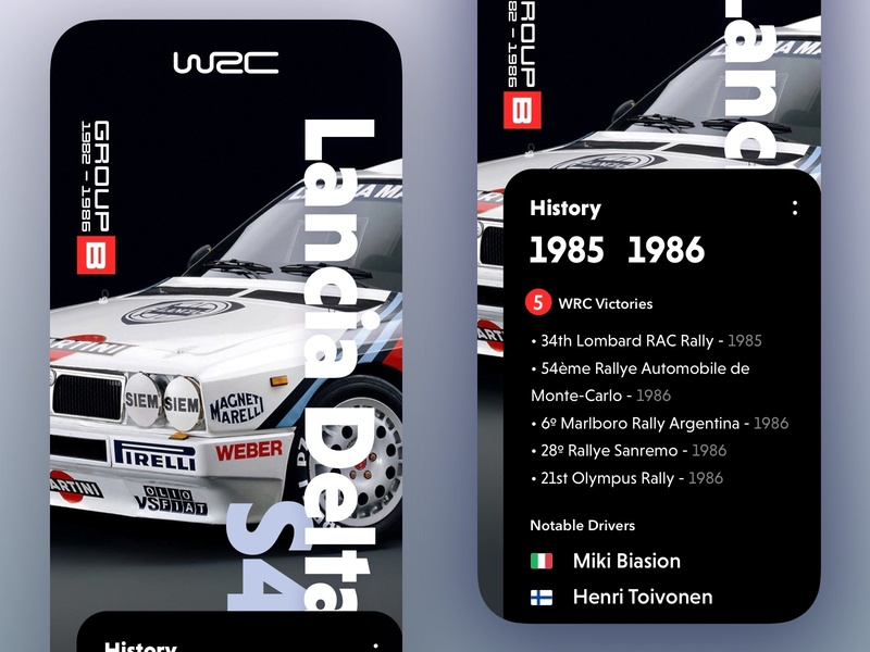 Lancia Delta S4 Rally rally wrc lancia iphone