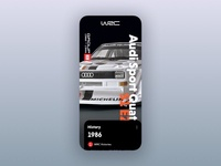 Audi Quattro S1 E2 - WRC Group B iphone wrc audi