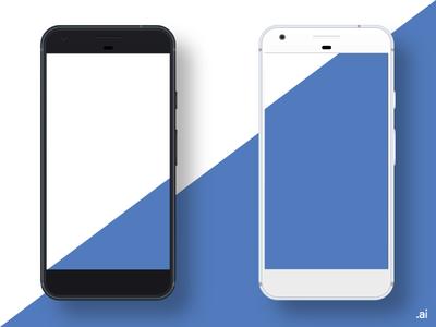Google Pixel Mockup (Freebie)