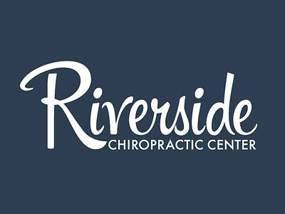 Riverside Logo branding logo identity script typography
