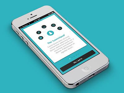 The Launchpad app tour walkthrough