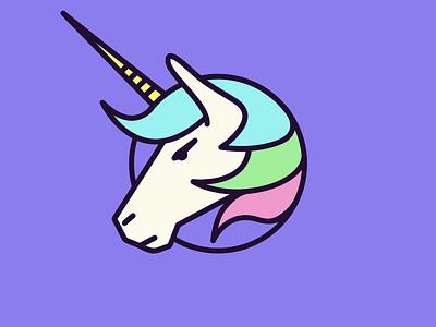 🦄 Team Unicorn 🦄 🦄 magic iconography icon logo unicorn