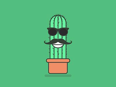 🌵Cactus Man 🌵 character vector green illustration cactus