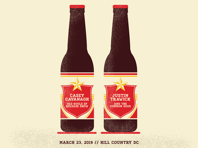 EP Release Gig Poster beer poster gig poster gig art texture vector illustration