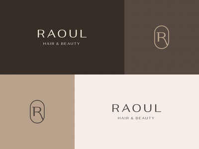 Logo design for Raoul | Hair & Beauty logo luxury hair salon salon hair