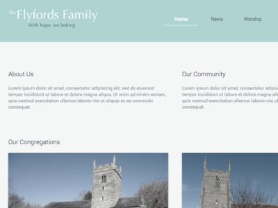 The Flyfords Family minimal church