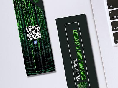 Bookmark IT security illustration bookmarking design logo bookmark books