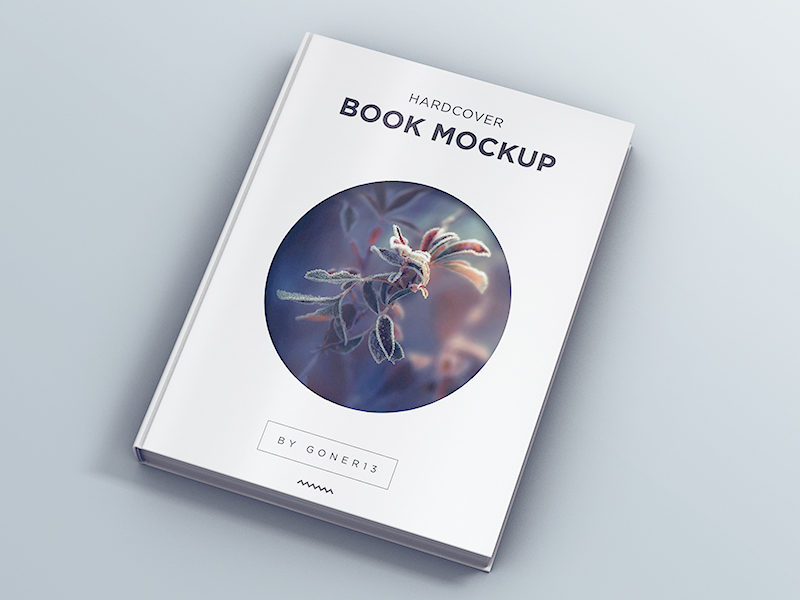 How To Make A Book Hardcover ~ Hardcover book mockup vol by piotr szmiłyk dribbble