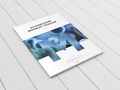 A4 Magazine / Booklet Mockup Vol. 1