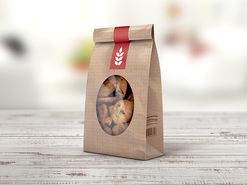 Paper Bag MockUp bag mockup bakery brown paper flour bag lunch bag mock up mock-up mockup packaging paper bag shopping bag free