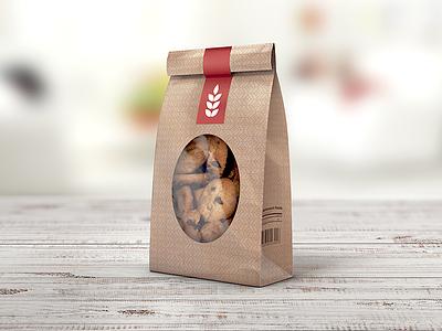 Paper Bag MockUp bag mockup bakery brown paper flour bag lunch bag mock up mock-up mockup packaging paper bag shopping bag free