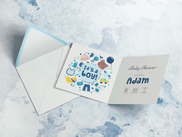 Square Invitation & Greeting Mockup