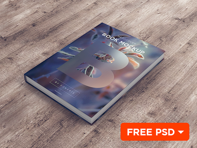 Book MockUp vol.1 (FREE PSD)