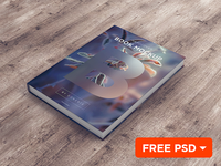 Book MockUp vol.1 (FREE PSD) books psd  template hardcover book mock-up mockup freebie free download