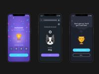 UX/UI language app