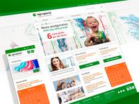 Agrupació responsive website