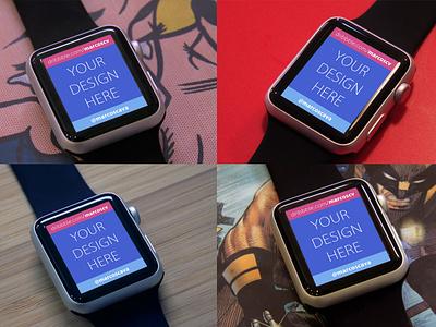 Free Apple Watch Mockups white watch template psd mockups free black apple mockup interface ui ux
