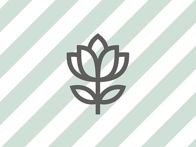 Maria das Flores — Symbol/Mark flower mark symbol florist visual identity identity