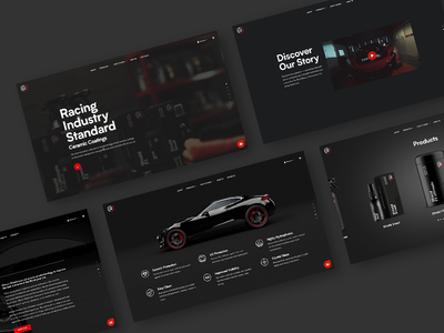 Gibson Shield — Website online store online shop ui design ui  ux ui website design web design website identity visual identity branding automotive ceramic coatings racing
