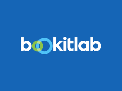 Bookitlab — Logo scheduling equipment lab saas software logotype branding visual identity identity logo