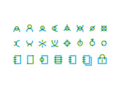 Bookitlab — Icons Study