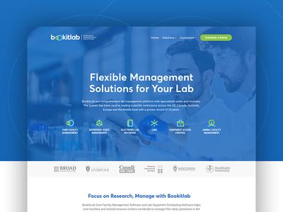 Bookitlab — Website