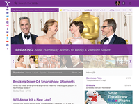 Yahoo redesign